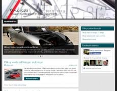 Otkup polovnih vozila | optimizacija i izrada sajta