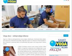 Izrada sajta Valjevo – Vega doo