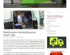 Prevoz i selidbe – SEO i izrada sajta